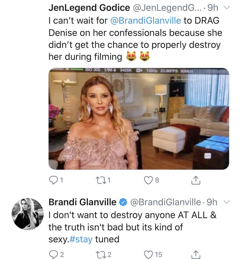Brandi Glanville Teases Sexy Truth Coming Soon on RHOBH