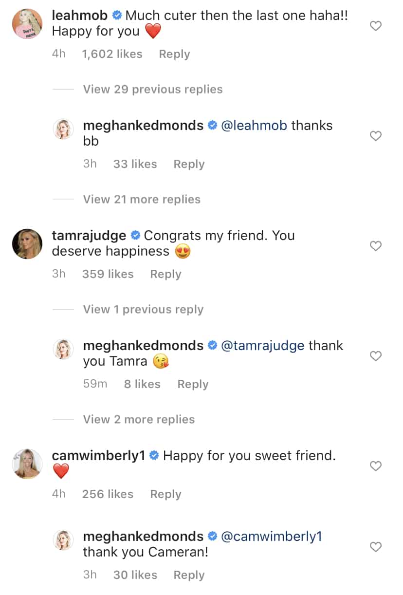 Bravolebrities React to Meghan King Edmonds New Boyfriend