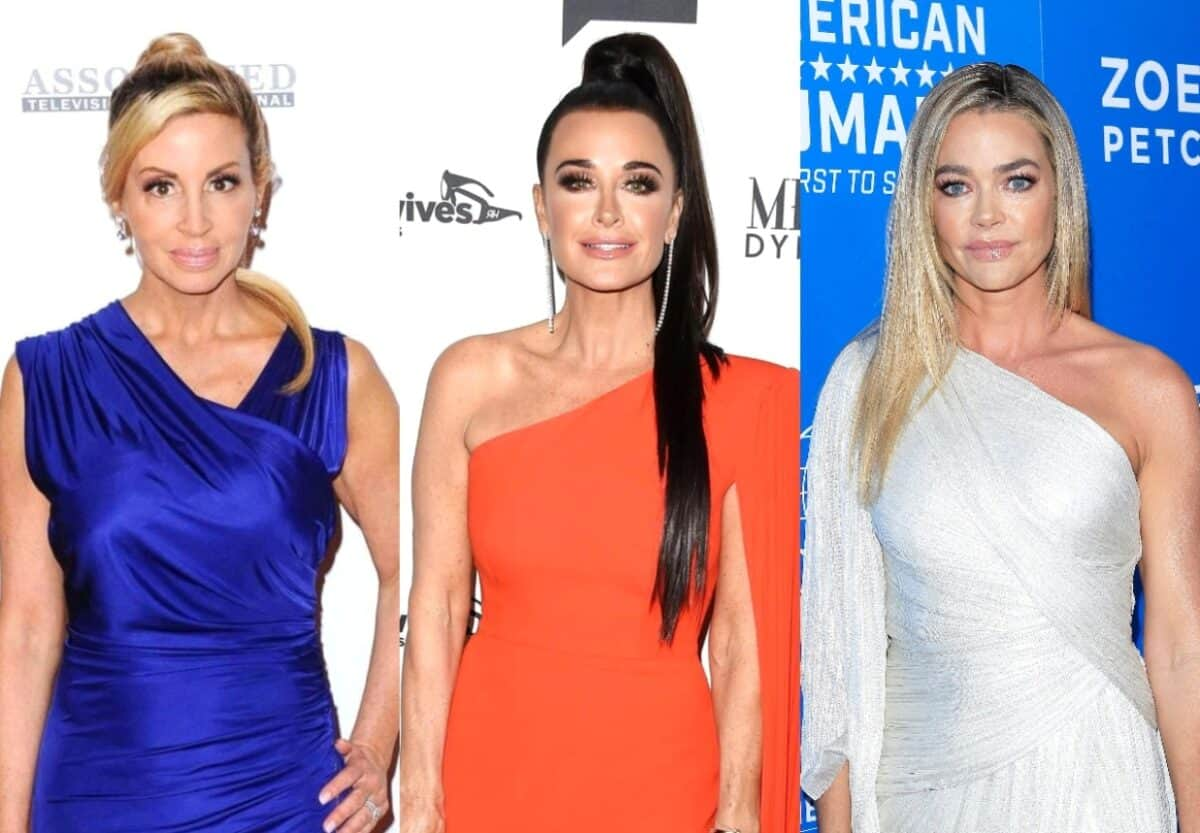 Camille Grammer Responds to Kyle Richards' Suspicion That Denise is Being Manipulated by a Former RHOBH Cast Member, Plus Denise Addresses Show Drama