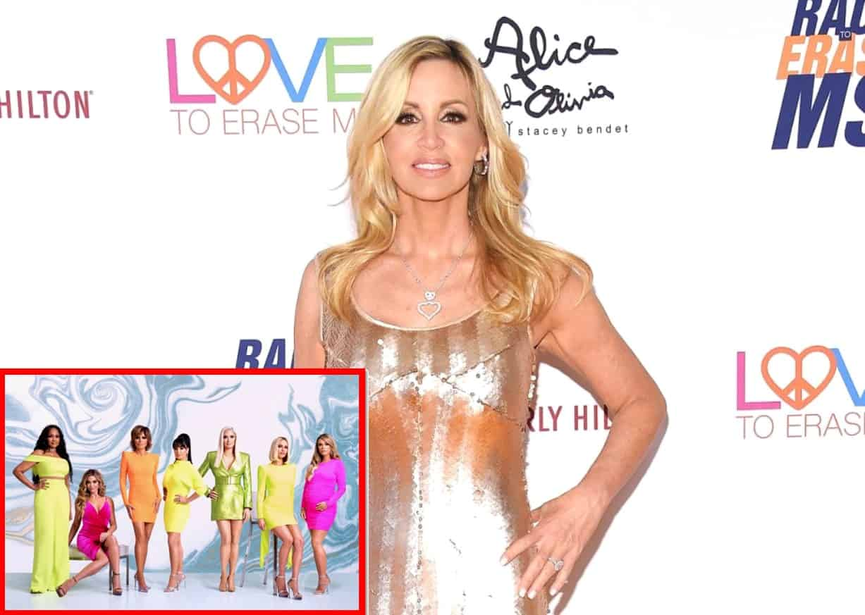Camille Grammer Suggests Her RHOBH Costars Have 'Inauthentic' Friendships, Says She Didn't Want to Become Their Target on New Season