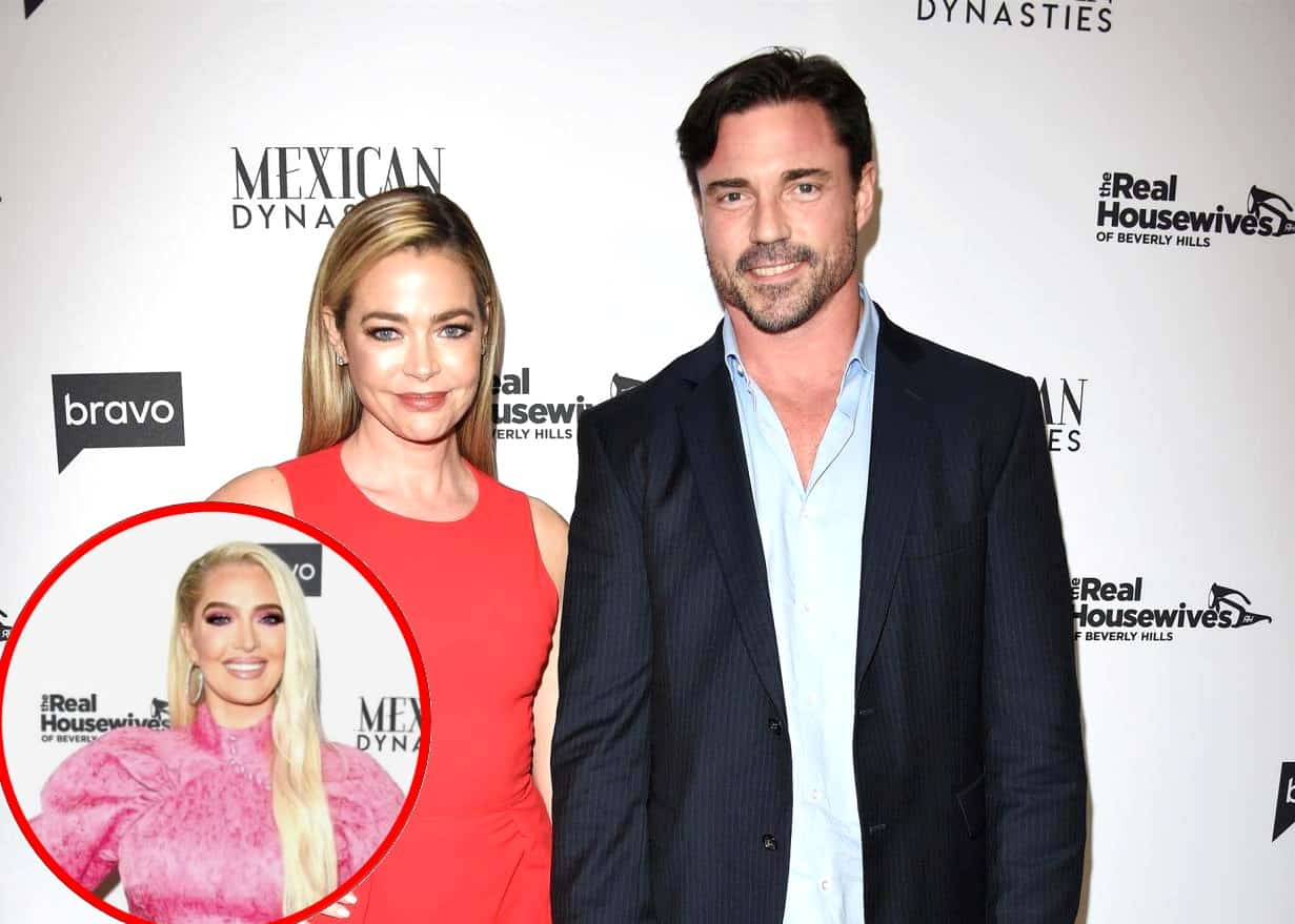 RHOBH Star Denise Richards Claps Back at Erika Jayne's Shade About Husband Aaron Phypers, Says They Didn't Watch the Awkward Dinner Party Episode, Do They Have Any Regrets?