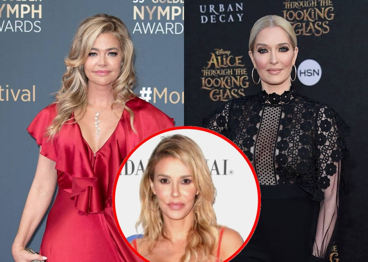 "RHOBH's Denise Richards Slams Erika Jayne for ""Inappropriate"" Comment About Her Daughter as Brandi Glanville Accuses Her of Lying About Racy Photo of Husband Aaron"