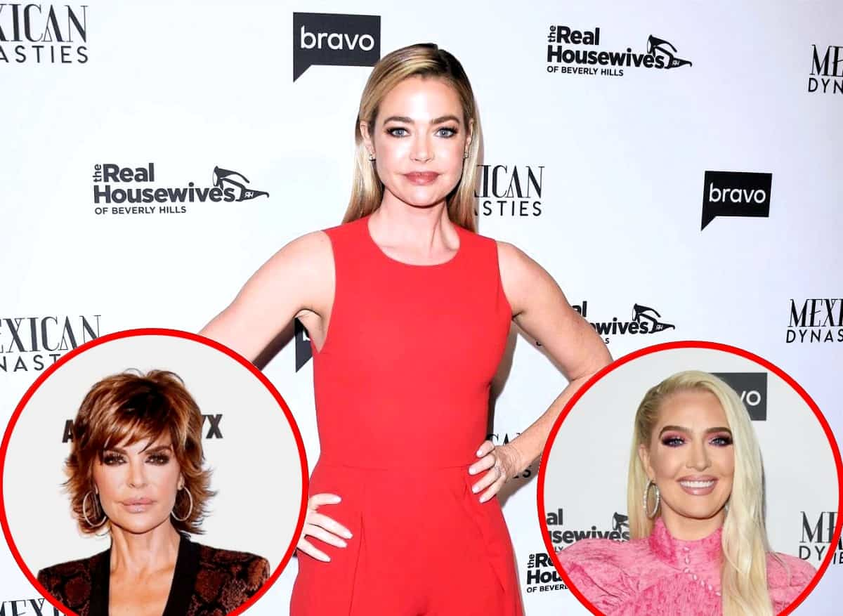 RHOBH's Denise Richards Slams Lisa Rinna for Laughing at Erika's Comment About Her Daughter and Denies Lying About the Conversation, Plus She Suggests Costars Were the Ones Flaming the Drama