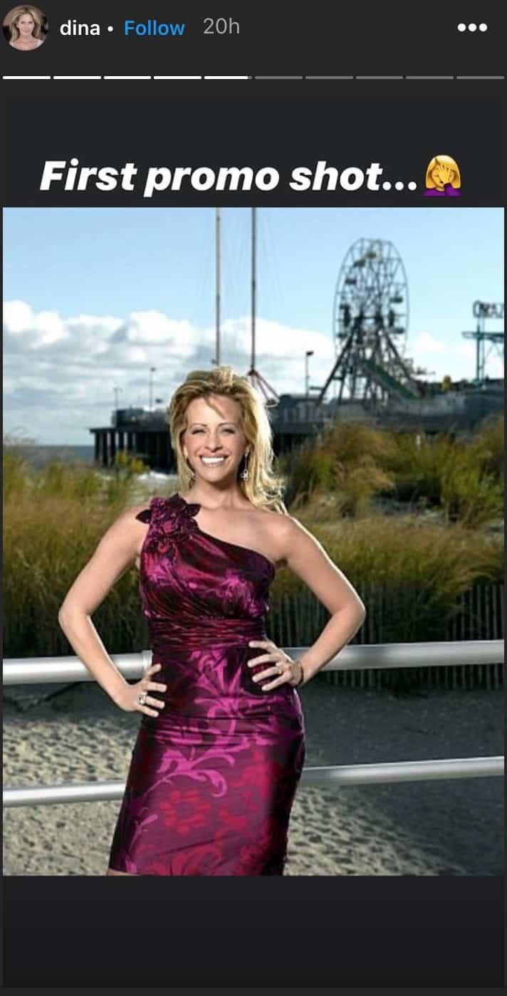 Dina Manzo Looks Back on RHONJ Season One Cast Photo