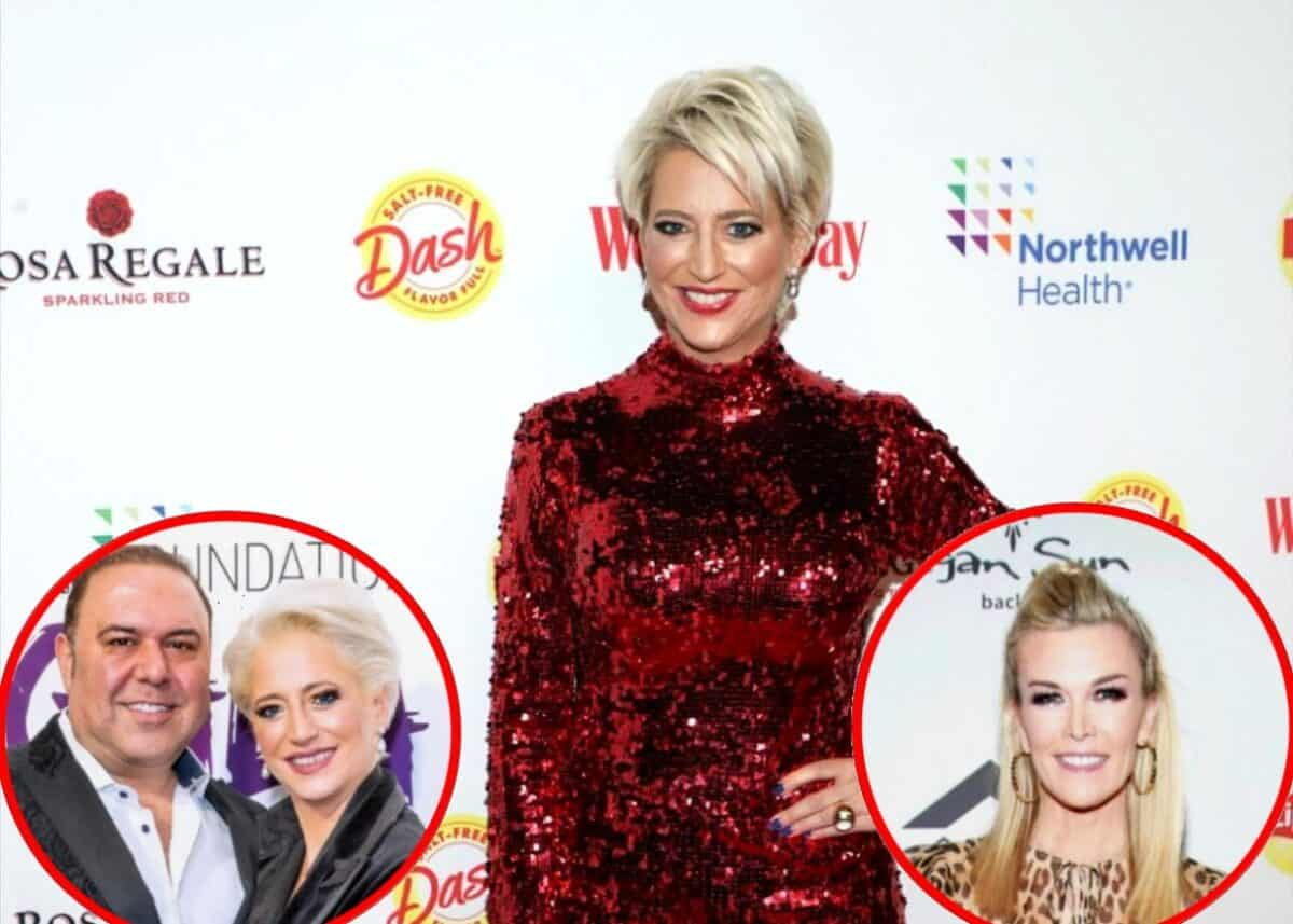 """RHONY's Dorinda Medley Reveals Relationship Status with John Mahdessian and if She Thinks She Was Too Hard on Tinsley Mortimer, Plus She Calls Out Sonja For Her """"Clever"""" Way of Shading Leah"""