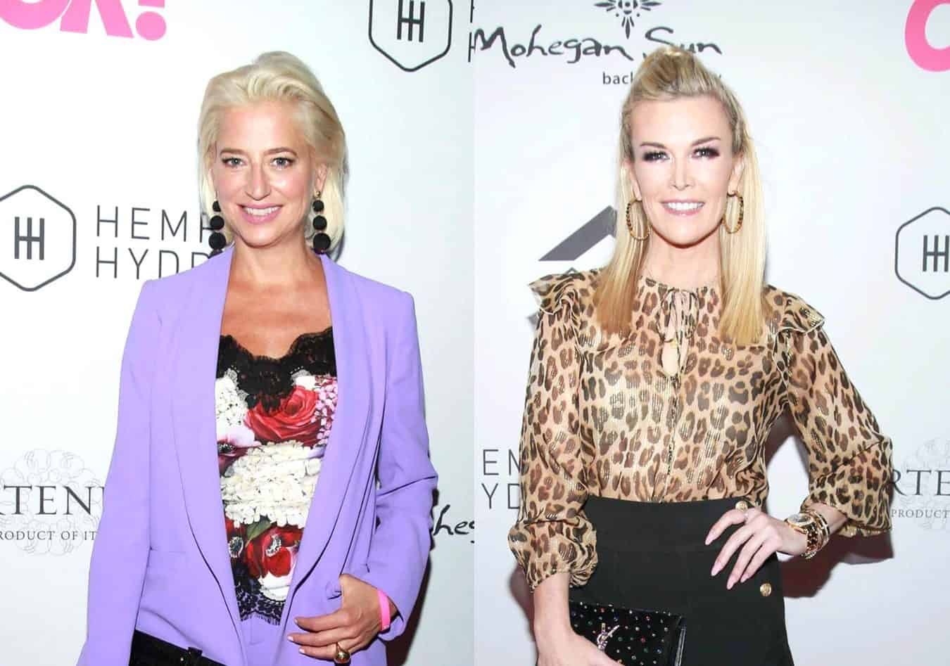RHONY Star Dorinda Medley Taunts Tinsley Mortimer After She Brags About Her Degree, Suggests She's Never Owned Anything After Leah Weighs In