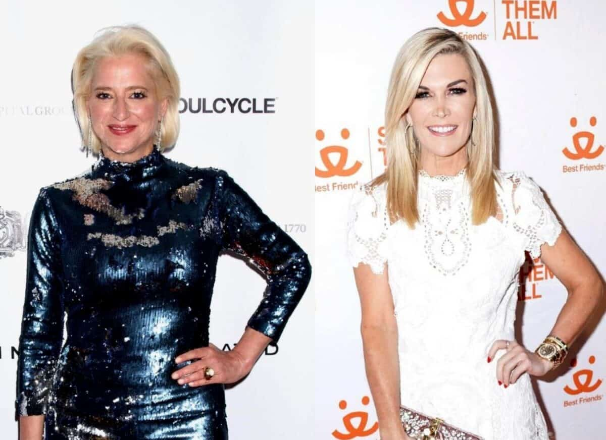 Dorinda Medley Shares What She Regrets About Feud With Tinsley Mortimer and Discusses Upcoming Reunion, Plus RHONY Live Viewing Thread
