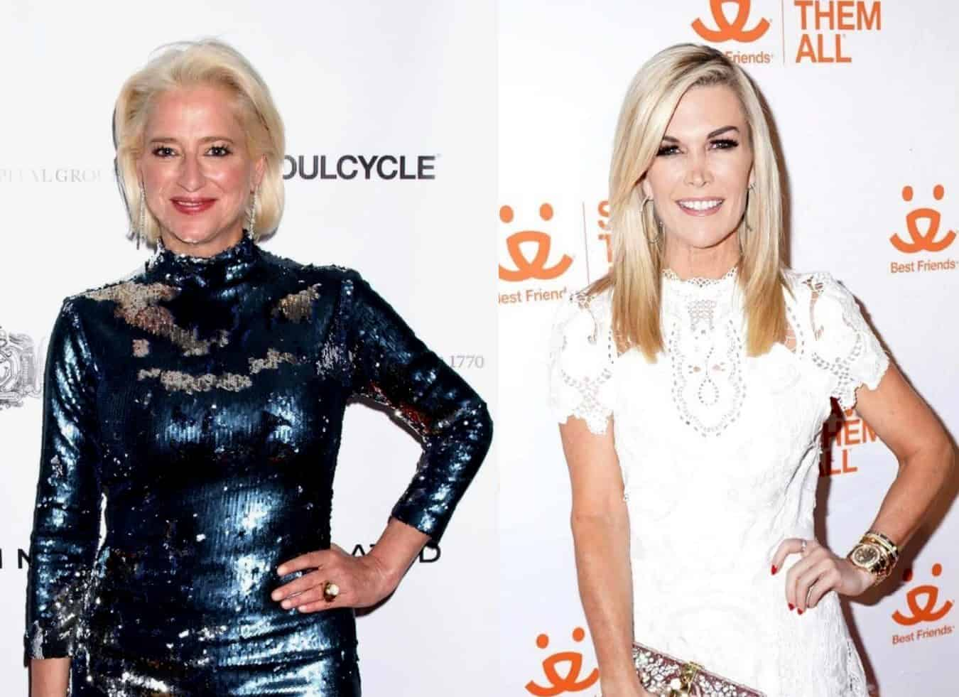 "RHONY Star Dorinda Medley Responds to Backlash Over Her Treatment of Tinsley Mortimer, Reveals Why She Got So Upset With Her and Shades Her as a ""Liar"""