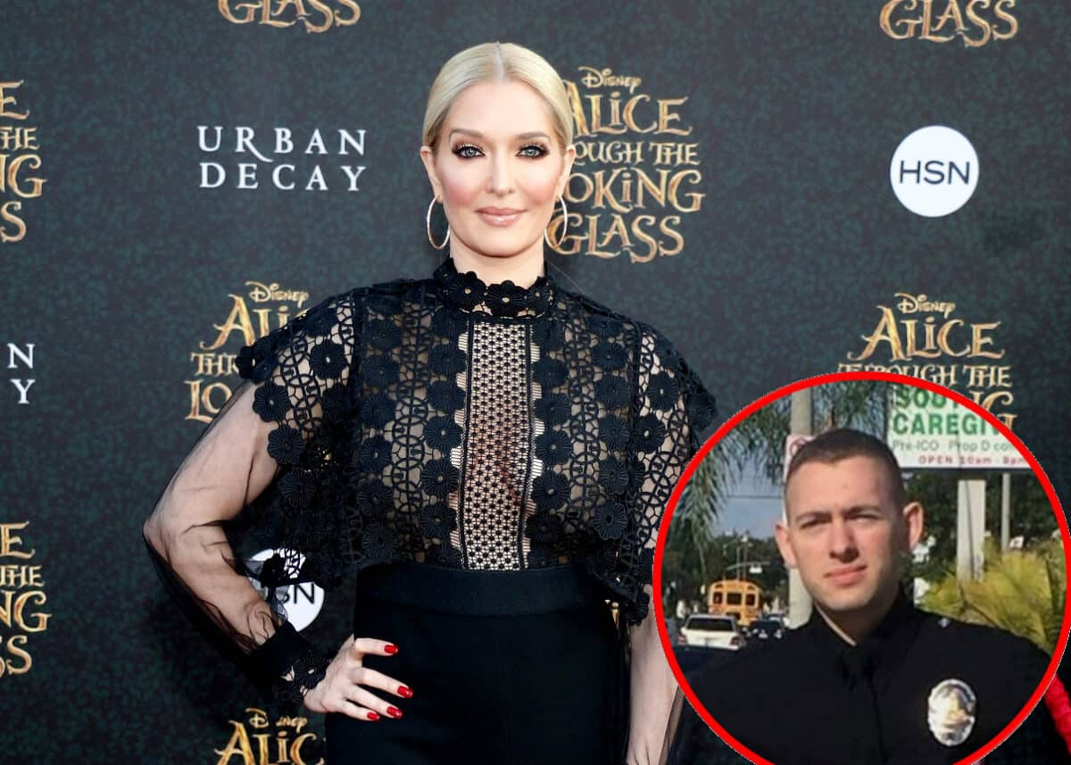 "RHOBH's Erika Jayne Says She's ""Proud"" of Police Officer Son Tommy and Reveals If She Regrets Sharing a Photo of Him, Plus Says Quarantine Has Been Great for Her Marriage to Thomas Girardi"
