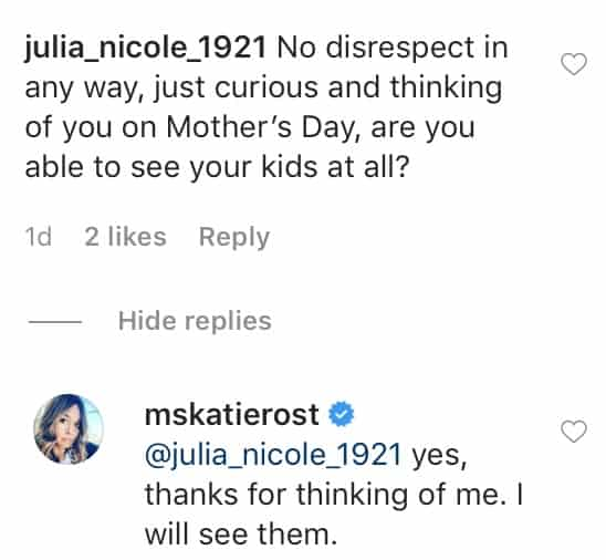 Former RHOP Katie Rost is Now Able to See Her Kids