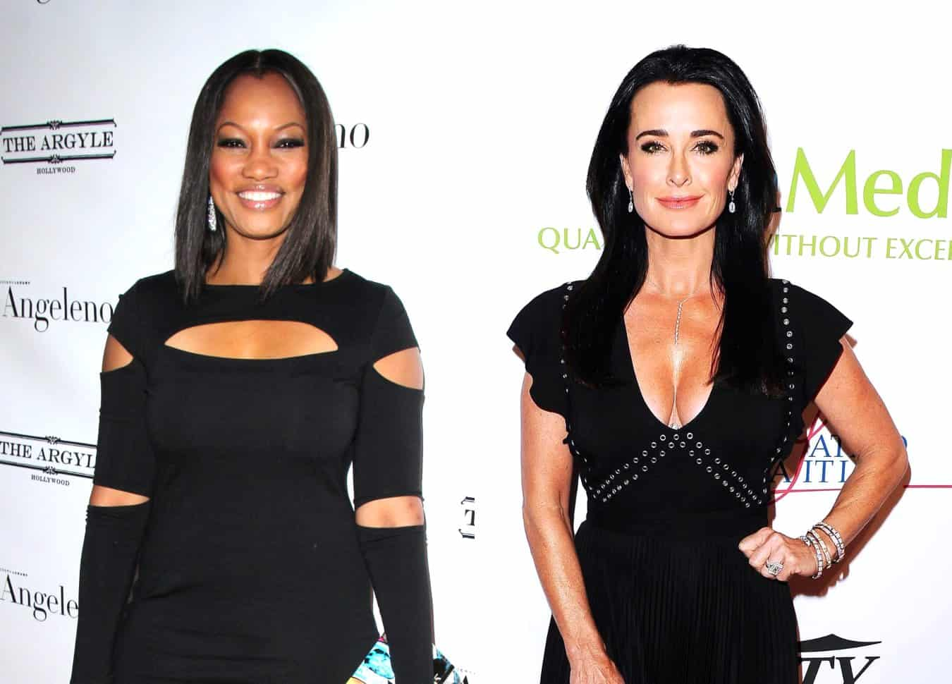 "Garcelle Beauvais Claps Back at Kyle Richards' Fashion Shade as Kyle Shares Why She Deleted Her Tweet and Admits This Season of RHOBH is ""All Too Much"""