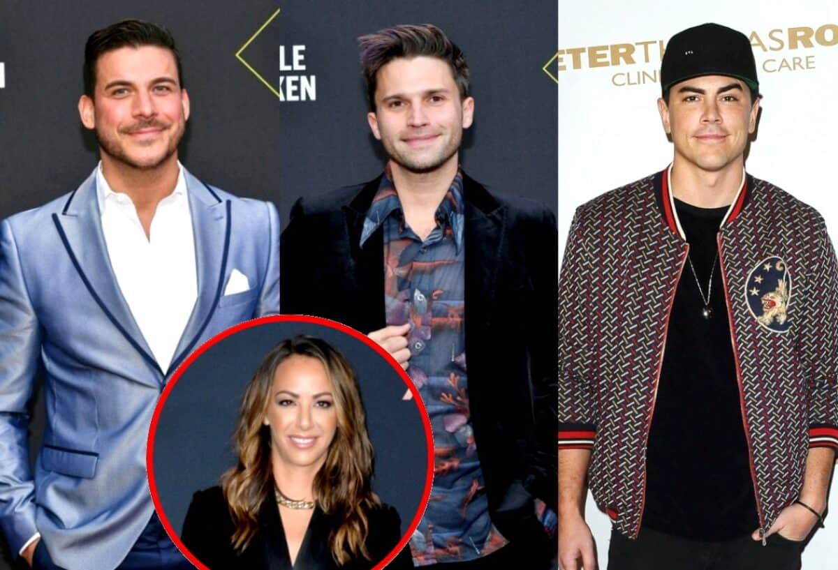 "Jax Taylor Shades Kristen Doute for Playing the ""Victim to a T"" as Vanderpump Rules Stars Tom Sandoval and Tom Schwartz Aren't Sure Kristen Will Ever Evolve From Her Old Ways"