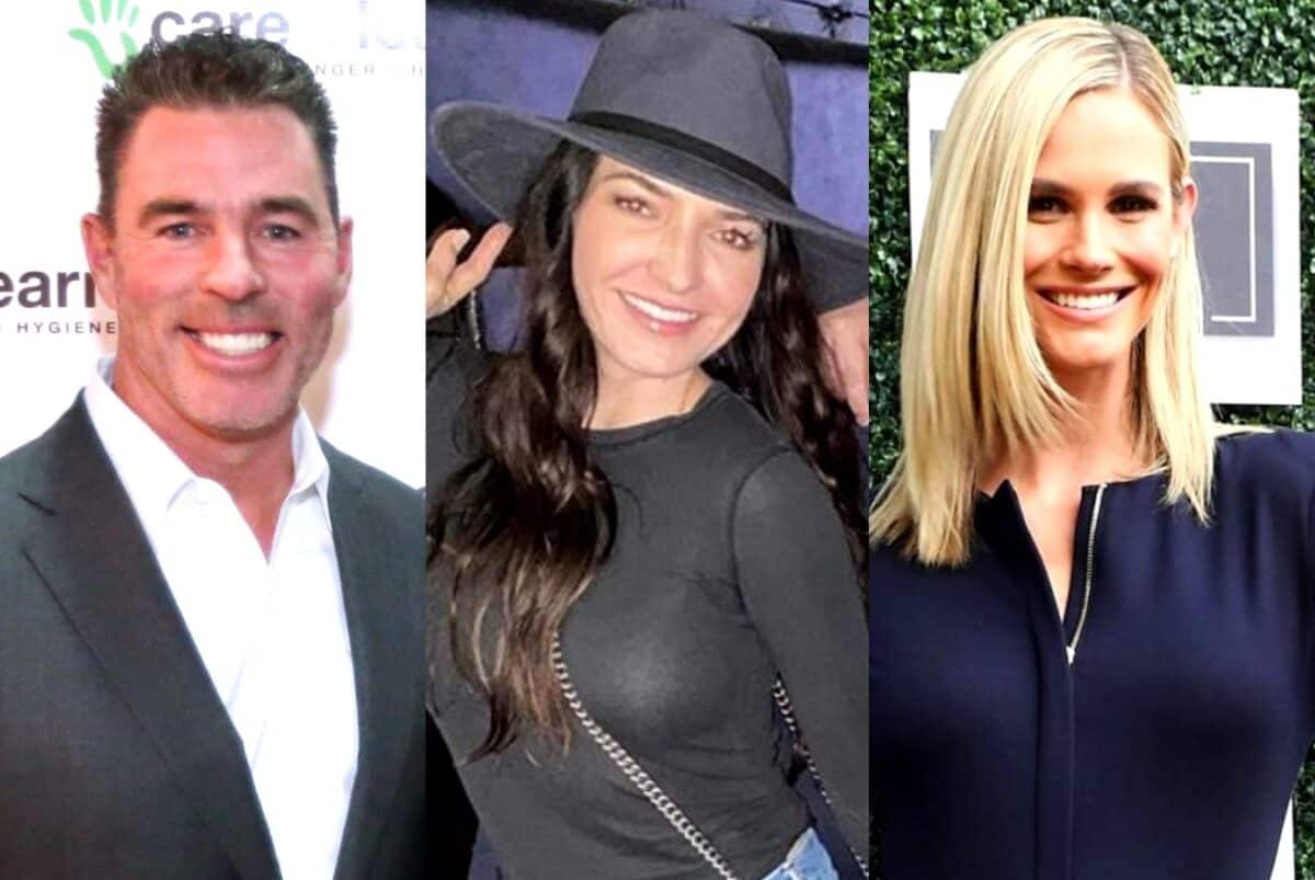 "PHOTO: Jim Edmonds Seemingly Shades Ex Meghan by Gushing Over Girlfriend Kortnie Being a 'Working Woman' and Doing ""Real Work"" After She Lands a Billboard Ad"