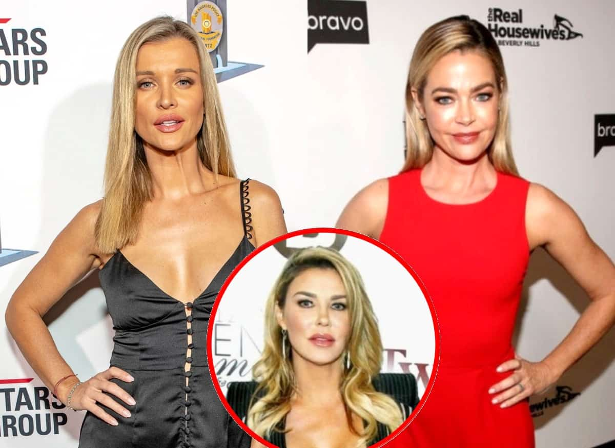 Ex RHOM Star Joanna Krupa Says She Spoke to Denise Richards About Her Drama With Brandi Glanville and Hints at a Possible Lawsuit, Plus She Reveals if She's in Touch With Andy Cohen and If She'd Consider a Role on RHOBH
