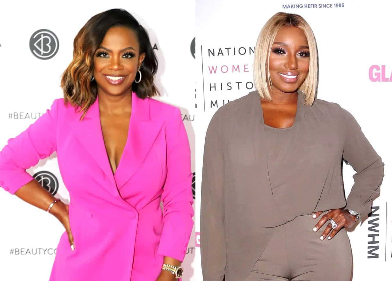 Kandi Burruss Dishes RHOA Reunion Drama With Nene Leakes and Reveals How She Recently Bumped Into Her at a Restaurant