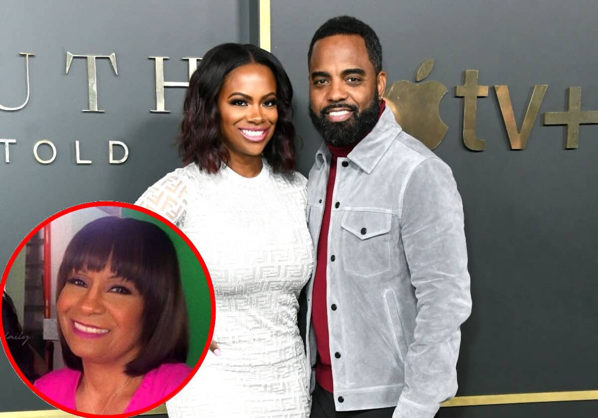 RHOA Star Kandi Burruss Shares an Update on Husband Todd Tucker's Relationship With Mama Joyce, Plus She Reveals Where Their Marriage Stands