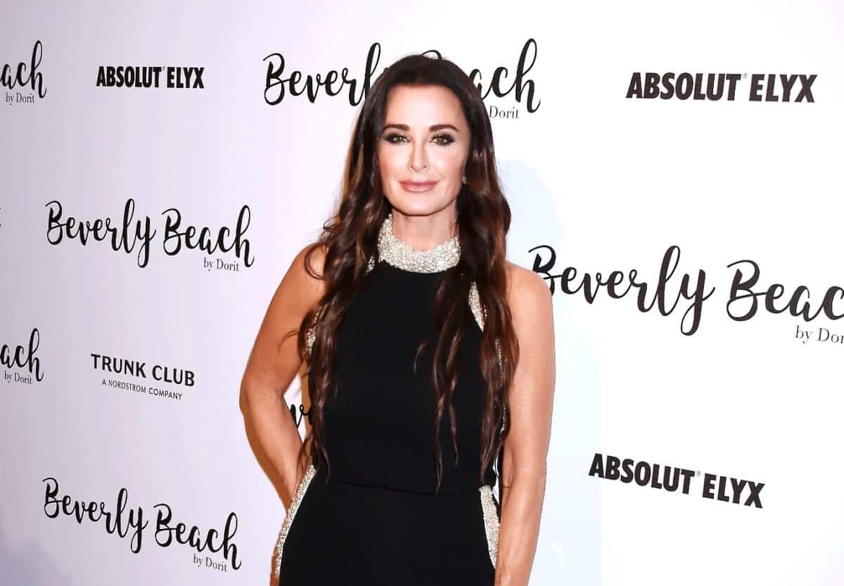 Kyle Richards Tweets RHOBH Season High Ratings Following Latest Episode and Responds to Claims That She Put Her Name on Someone Else's Designs for Clothing Line, Plus Live Viewing Thread!