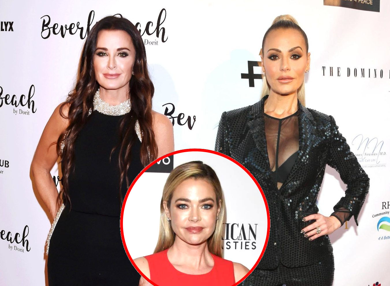 "Kyle Richards Explains Why She and Dorit Kemsley are Not ""Talking"" as She Calls Her Out for ""Low Blow"" Comments, Thinks Denise Drama Stems From ""Off Camera"" Conversations"