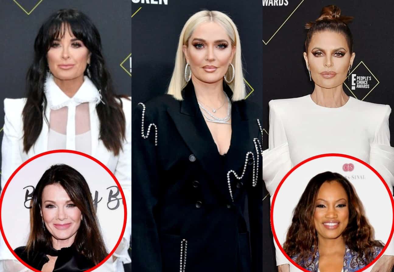 "RHOBH's Kyle Richards Shades Erika Jayne and Lisa Rinna's Friendship, Suggests She Was a ""Good Friend"" to Lisa Vanderpump and Implies Garcelle Can't Be Trusted"