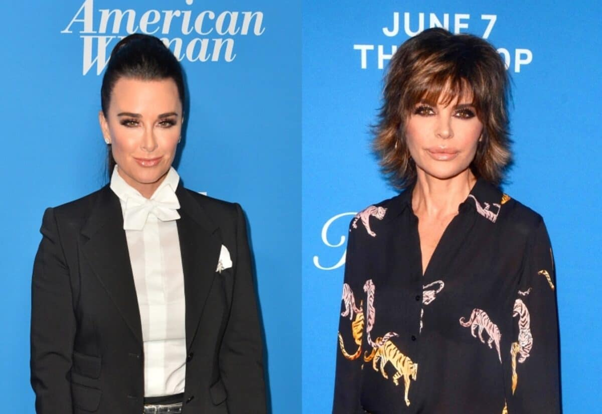"""Kyle Richards Tells Lisa Rinna to """"F--k Off"""" and Cries After She Brings Up Kim Richards, Gets Upset After Cast Says She Always Defends Teddi Plus RHOBH Live Viewing Thread!"""