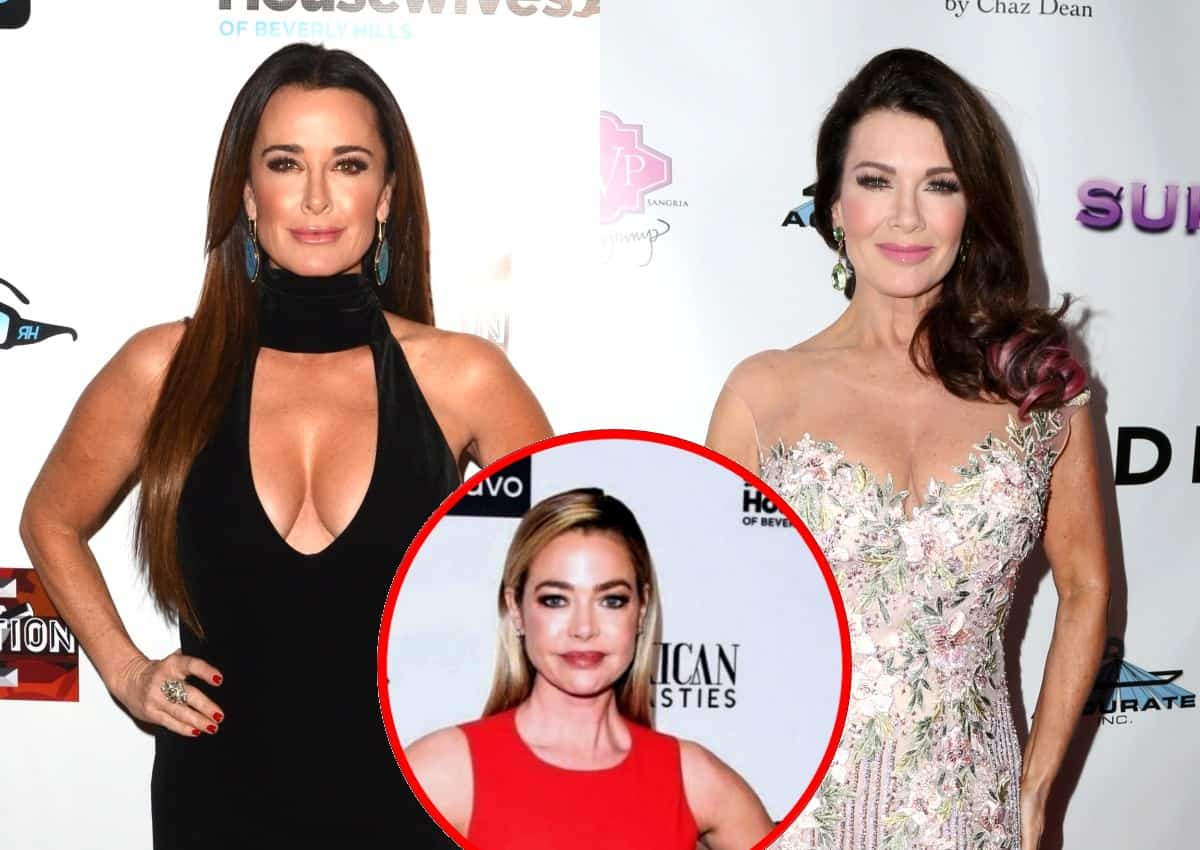 "RHOBH's Kyle Richards Says Lisa Vanderpump Changed Her Phone Number After Storming Off During Their Latest Run-In and Refuses to ""Let Bygones Be Bygones,"" Plus Why She Thought Denise Quit"