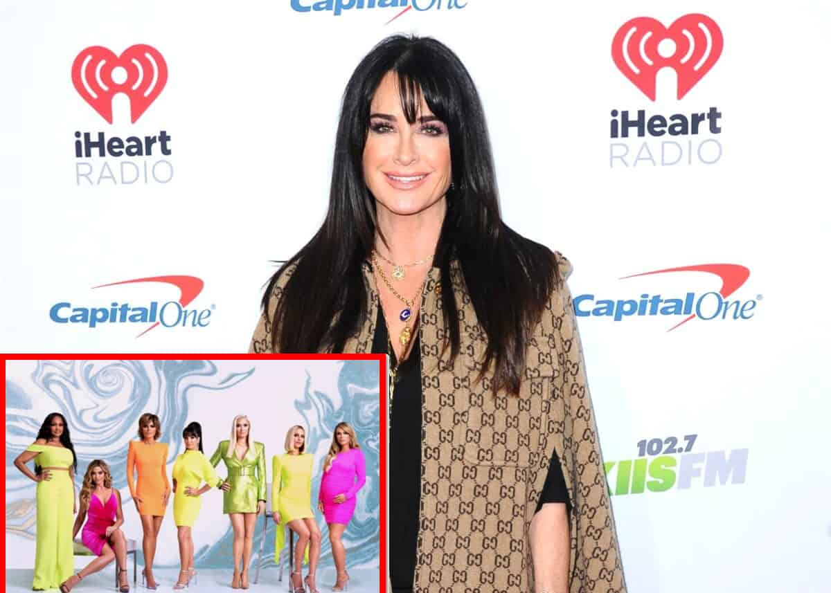"RHOBH's Kyle Richards Reveals Why She Believes the Show is Currently on Hiatus, See What She's Saying About ""Setbacks"" as Report Claims Brandi Glanville May Be Edited Out"