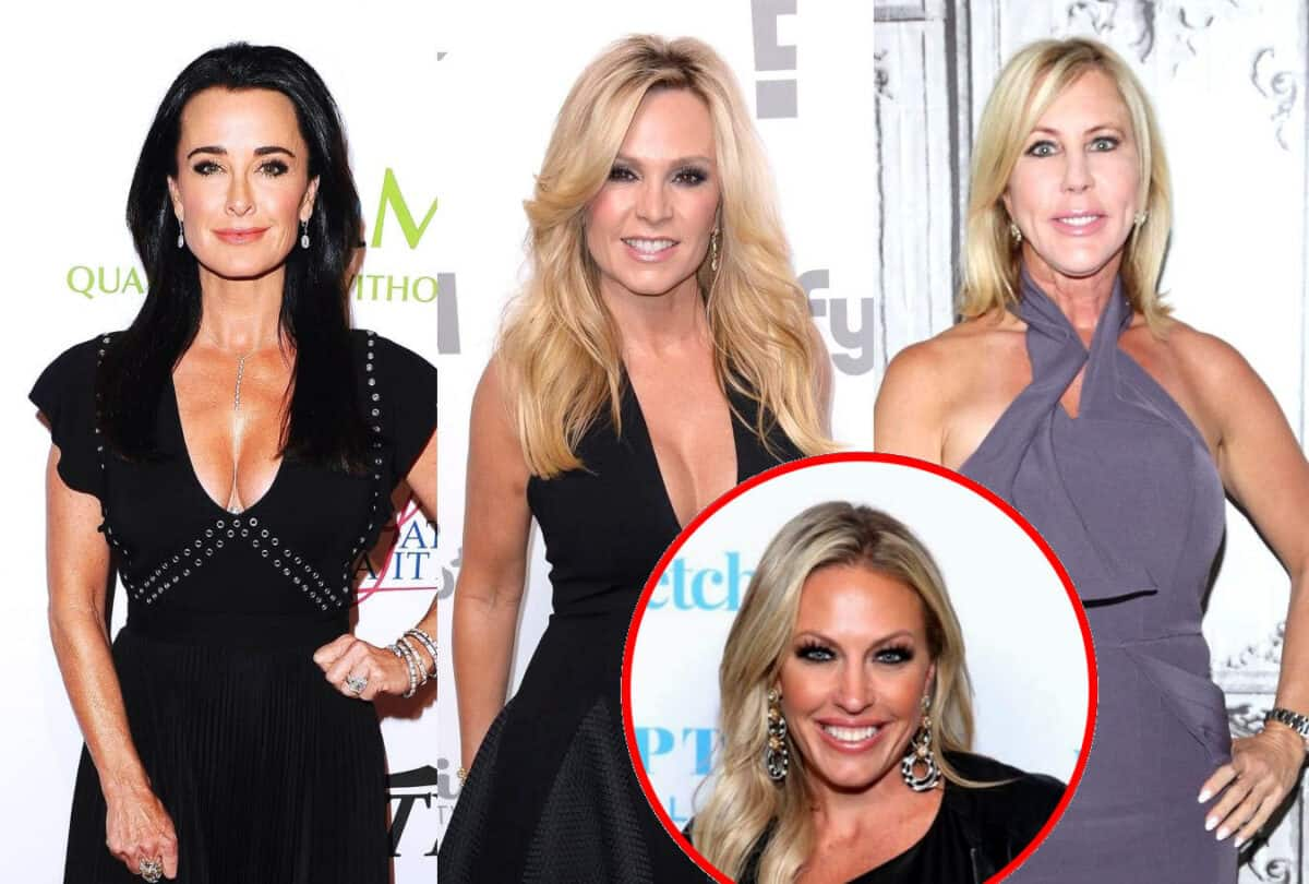 "RHOBH Star Kyle Richards Claps Back at Tamra Judge and Vicki Gunvalson for Dissing Her as ""Vanilla"" as She Shades Tamra for Kissing Braunwyn, Plus Kyle Insists Brandi is Not a ""Liar"" Amid Affair Rumors"
