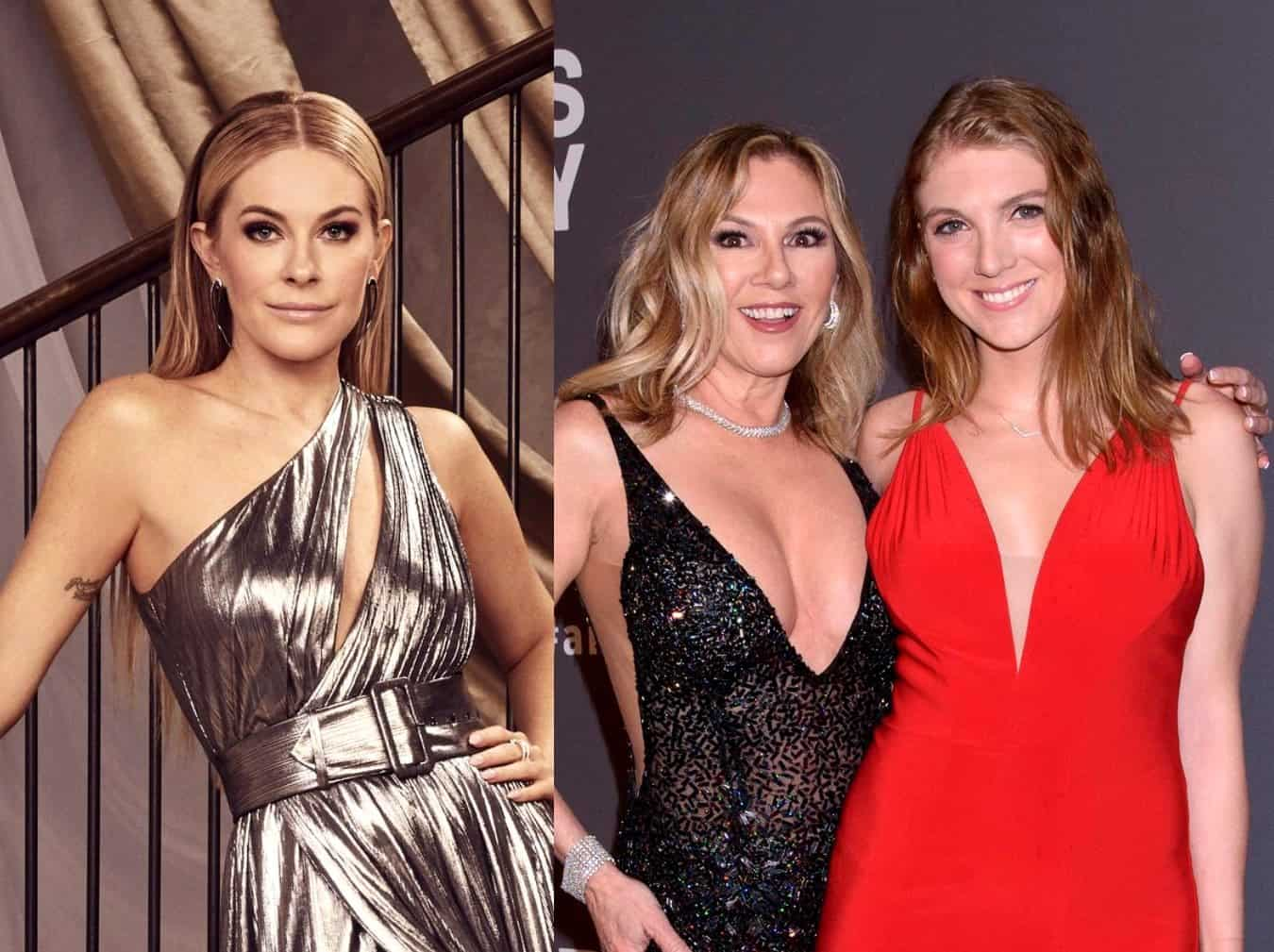 "Leah McSweeney Suggests Ramona Singer is ""Lying"" About Testing Positive for COVID-19 Antibodies Along With Daughter Avery as Their RHONY Costars Luann and Dorinda Have Weird Reaction"