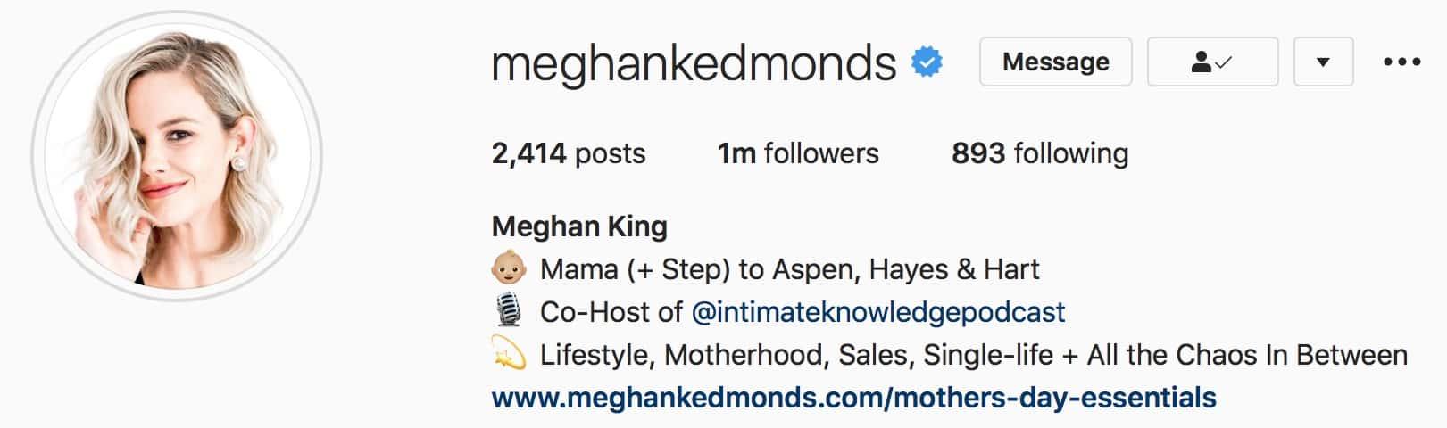 RHOC Meghan King Edmonds Changes Instagram Name