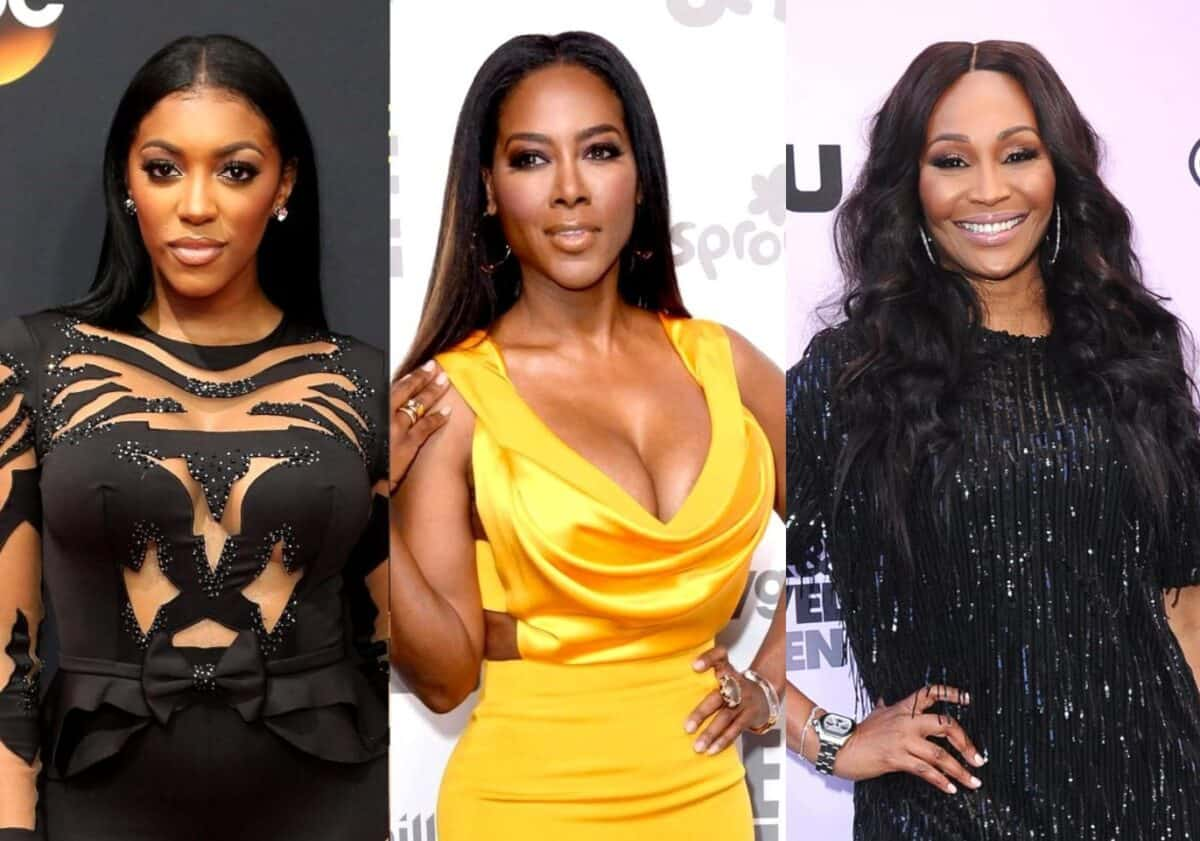 "RHOA Star Porsha Williams Claims She Has Texts From Kenya Moore ""Dogging Out"" Cynthia Bailey, Calls Kenya a ""Horrible Friend"""