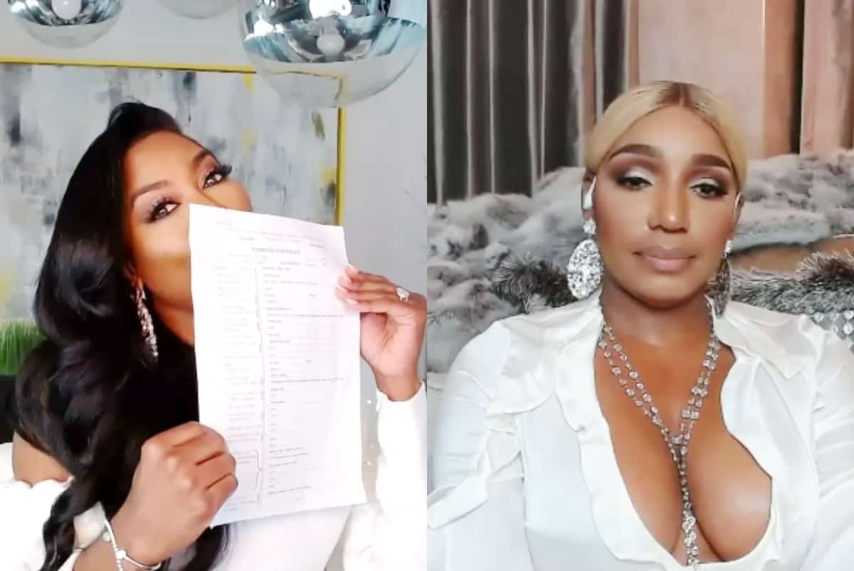 RHOA Virtual Reunion Recap: Kenya Shows Her Marriage License as Nene Walks off and Tempers Flare!