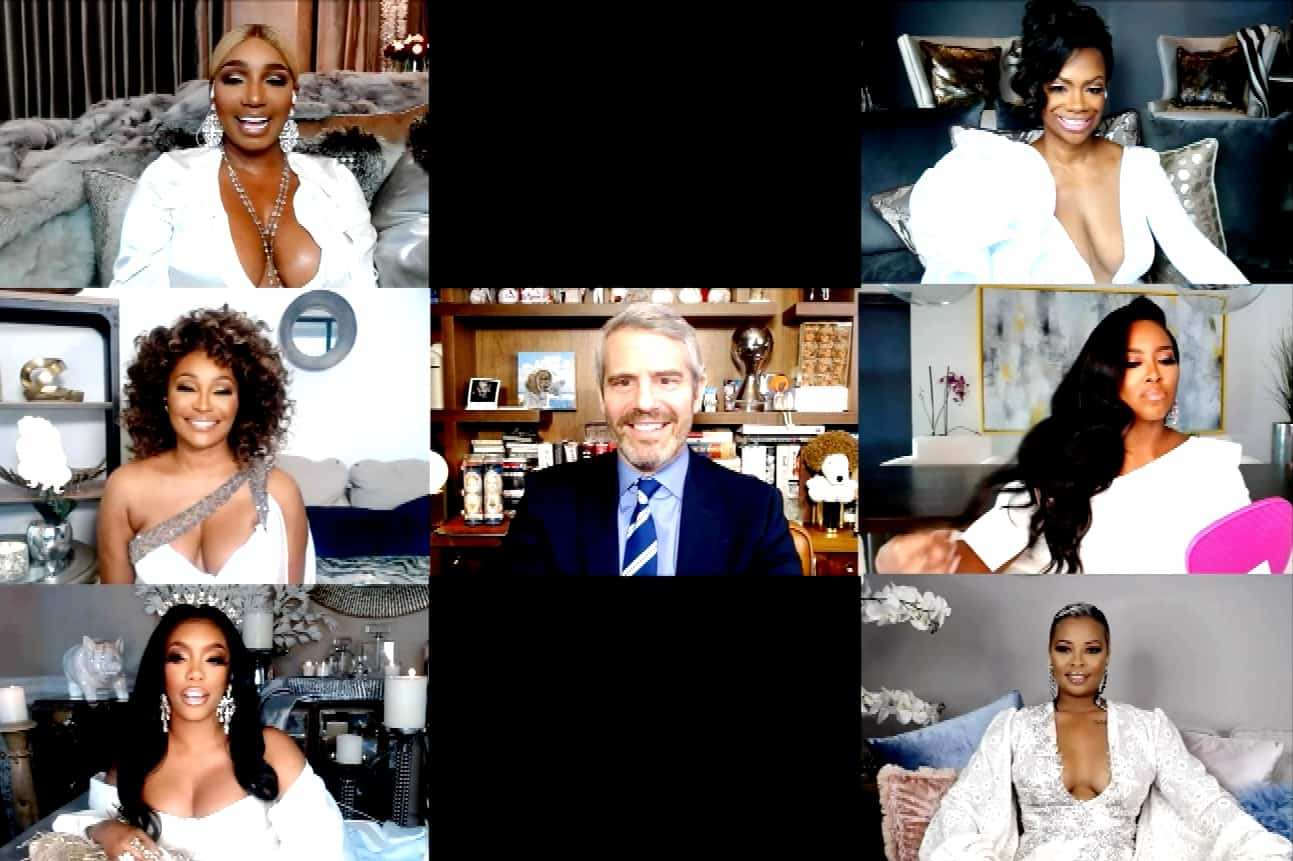 """VIDEO: Watch the RHOA Virtual Reunion Trailer! Porsha Goes Off on Eva for """"Speaking On"""" Her Child as Nene Leaves in a Huff"""