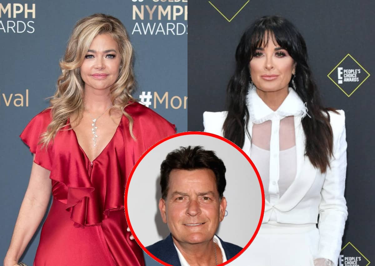 """RHOBH Star Denise Richards Shares Her Initial Reaction to Kyle Richards' """"Ragamuffin"""" Comment, Gives an Update on Co-Parenting with Ex-Husband Charlie Sheen"""