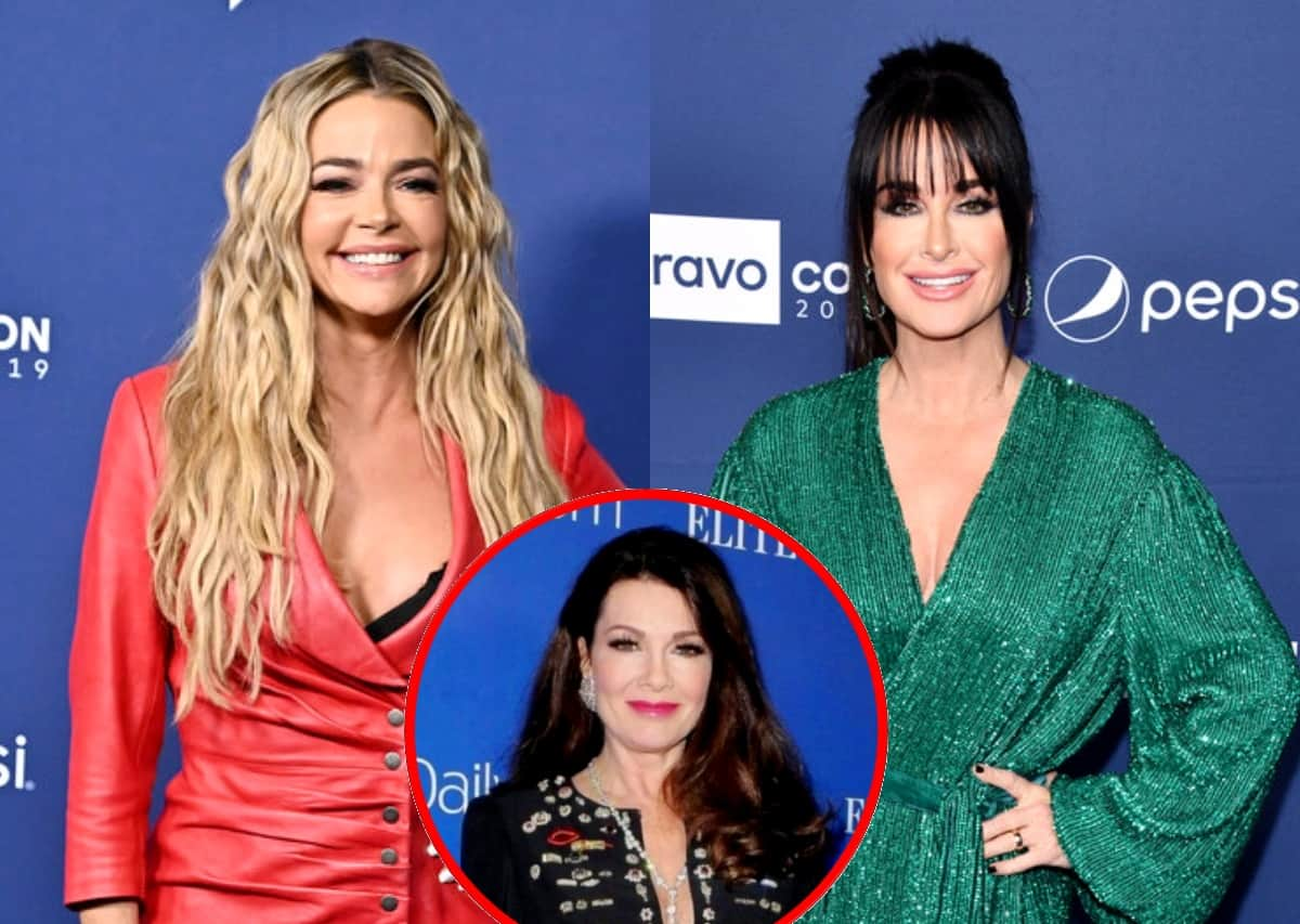 """RHOBH Star Denise Richards Claps Back at Kyle Richards' """"Ragamuffin"""" Comment as Kyle Offers a Public Apology and Reacts to Lisa Vanderpump Comparison After Saying She Felt 'Ganged Up' On"""