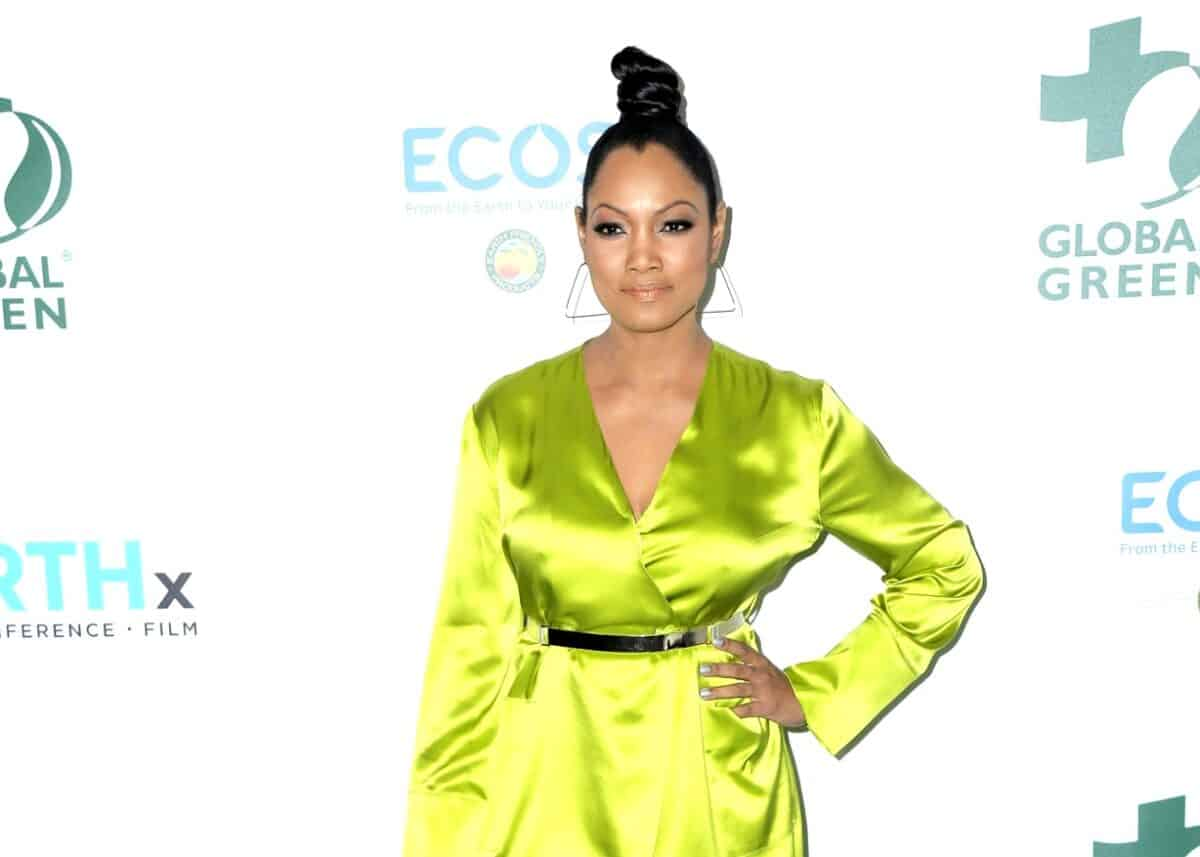 """Garcelle Beauvais Launches New Podcast Show, """"Going to Bed with Garcelle,"""" Plus She Shares What Goes Down in the RHOBH Group Text and Why She Didn't Mesh With Sutton"""
