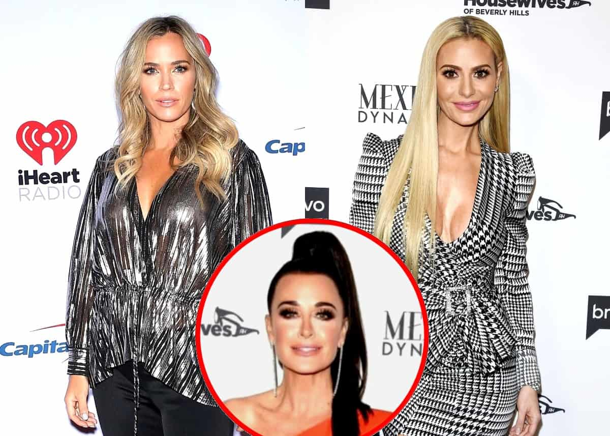 "RHOBH's Teddi Mellencamp Says She and Dorit Kemsley Are Always ""Going in Circles,"" Reacts to Dorit Obsessing Over Her and Kyle Richards Sharing a Bed and Reveals Which Co-Stars She's Closest To"