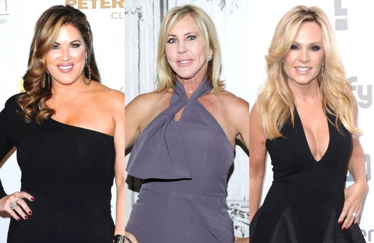 RHOC Star Emily Simpson Claps Back at Vicki Gunvalson and Tamra Judge's Recent Shade as She Clarifies How She Joined the Show and Questions Why They're Bashing Her
