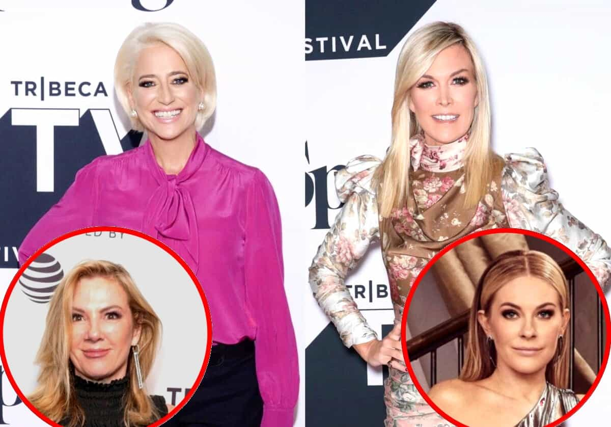RHONY's Dorinda Medley Reveals She's Blocked by Tinsley Mortimer, Slams Ramona Singer for Labeling Leah an Alcoholic and Claims She Doesn't Respect Death