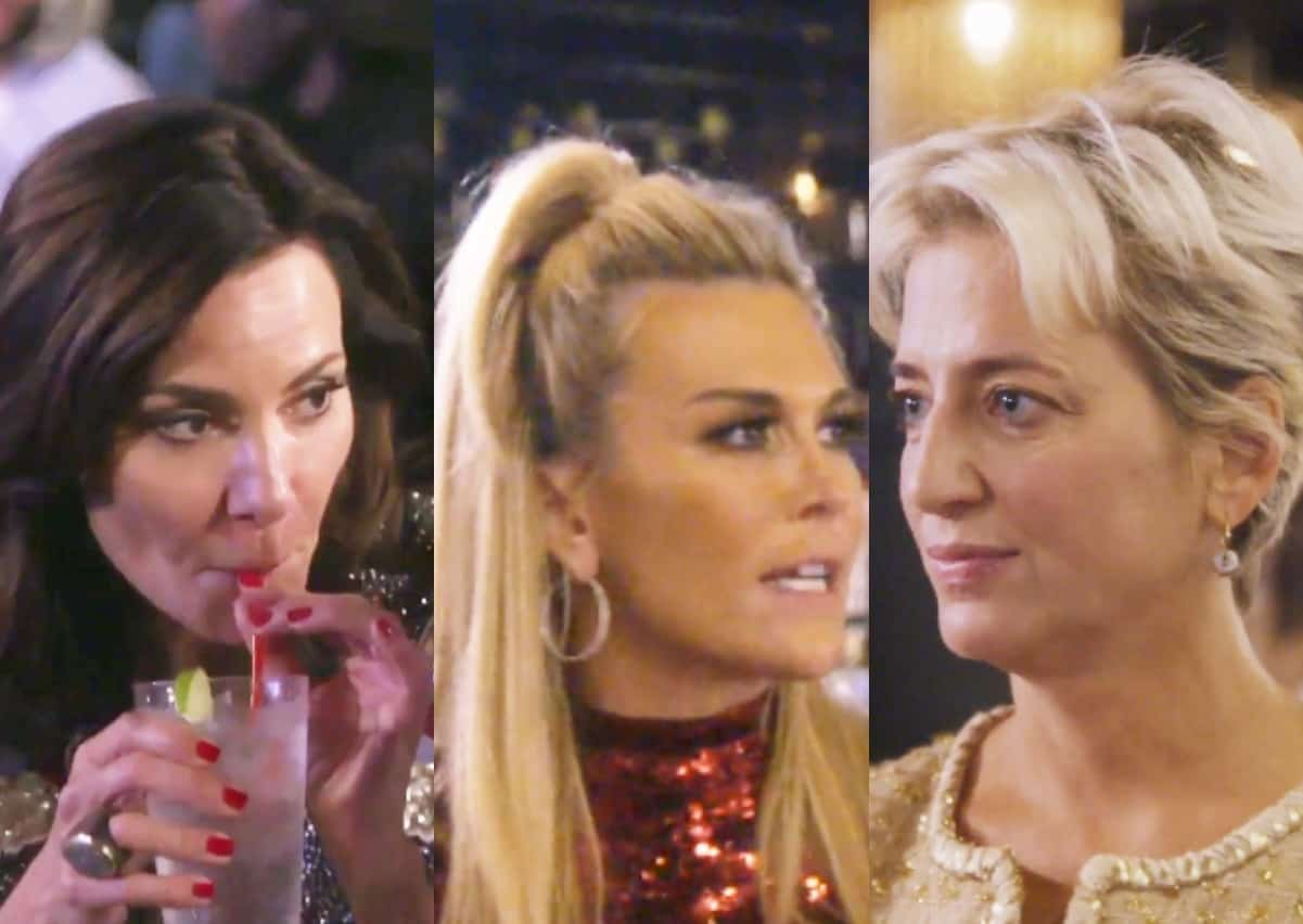 RHONY Recap: Luann is Back to Drinking as Tinsley and Dorinda Bicker Yet Again