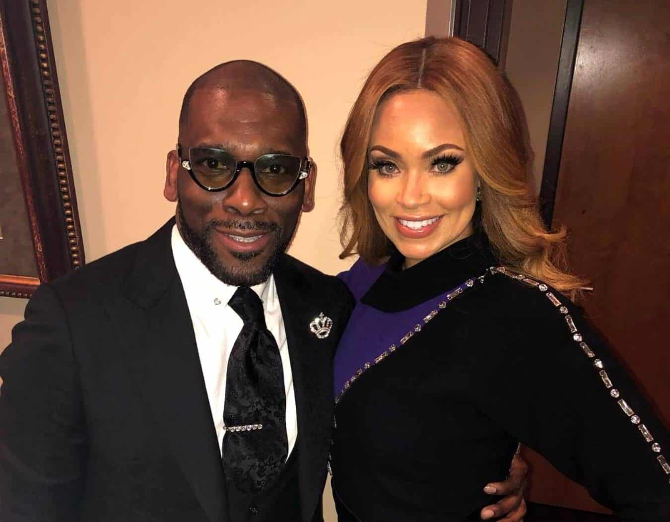 """RHOP Star Gizelle Bryant Reacts to Rumors of Ex-Husband and Current Partner Jamal Bryant Fathering a Child With Another Woman as Jamal Shuts it Down and Threatens Legal Action Against Bloggers: """"You Got 72 Hours"""""""