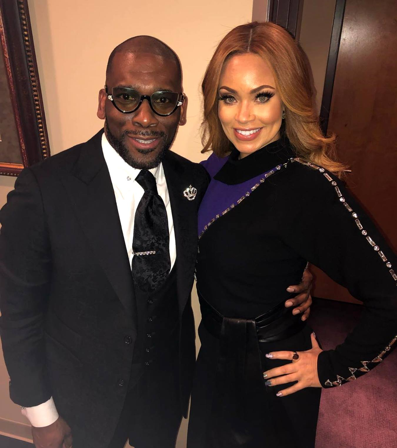 "RHOP Star Gizelle Bryant Reacts to Rumors of Ex-Husband and Current Partner Jamal Bryant Fathering a Child With Another Woman as Jamal Shuts it Down and Threatens Legal Action Against Bloggers: ""You Got 72 Hours"""