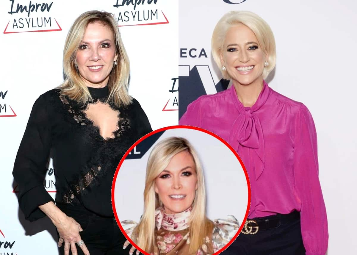 Ramona Singer Calls Out Dorinda Medley For 'Going Below the Belt' Over Tinsley Drama as Dorinda Fires Back by Accusing Ramona of Doing the Same, Plus RHONY Live Viewing Thread