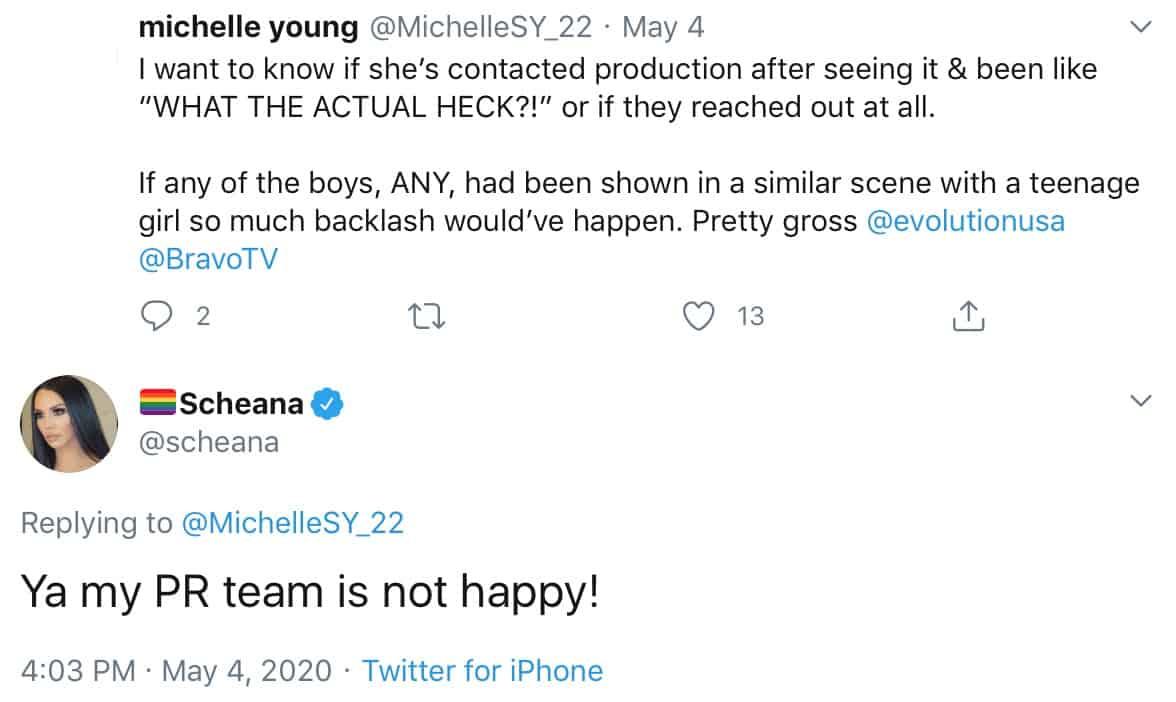 Scheana Marie's PR Team is Not Happy About Vanderpump Rules Edits