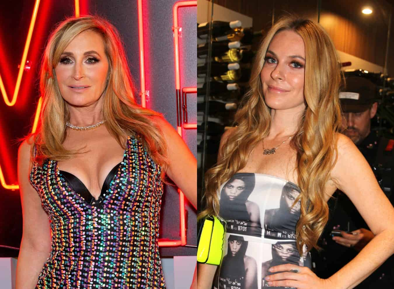 Sonja Morgan Shows 'Proof' She Didn't Try to Make Her Leah McSweeney Look Bad in Her Clothing Line and Claps Back at Her, Shades Producer of Her Fashion Show Plus RHONY Live Viewing Thread!