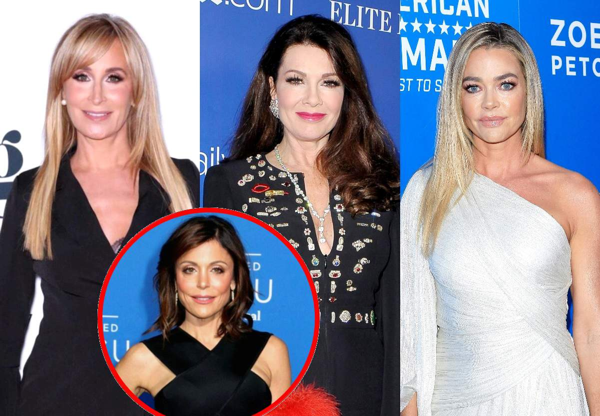 Sonja Morgan Shades Lisa Vanderpump and Denise Richards' Decision to Stop Filming RHOBH, Plus She Shares if Bethenny Frankel Watches RHONY and if They Still Talk