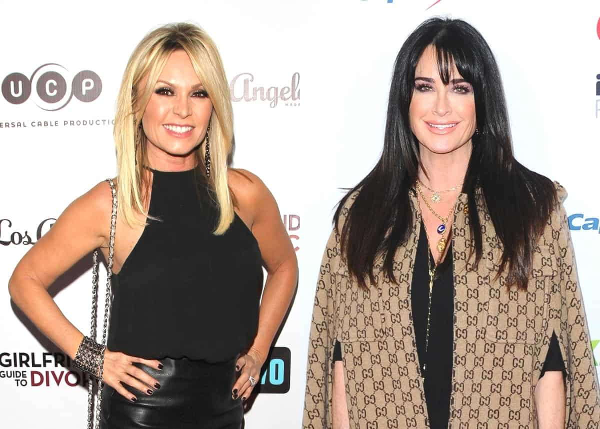 "RHOC Star Tamra Judge Shares an Update on Feud With Kyle Richards After the RHOBH Star Fired Back at ""Vanilla"" Shade, Calls Drama a ""Misunderstanding"""