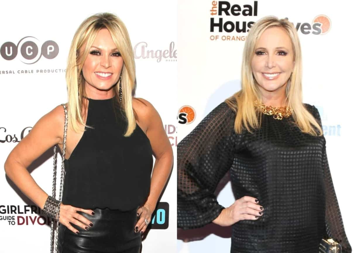 "Tamra Judge Blasts Shannon Beador Over Claims Made on RHOC Episode, Calls Her a ""Liar"" and Pokes Fun at Her Drunken Behavior, Also Accuses Her of Attempting to ""Play Producer"""