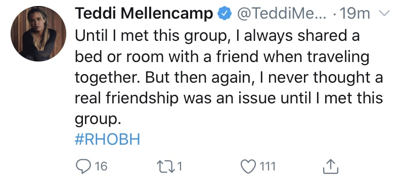 Teddi Mellencamp Claims Real Friendships Are a Problem for RHOBH Cast