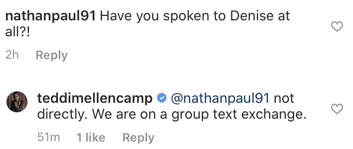 Teddi Mellencamp Has Not Spoke to Denise Richards After RHOBH Drama