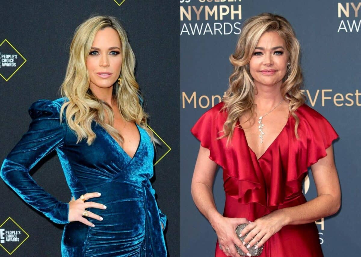 "Teddi Mellencamp Dishes on Denise Richards' ""Bravo F--king Bravo"" Moment on RHOBH, Calls Her ""Obnoxious"" For Trying to ""Control the Narrative"""